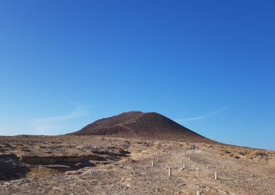 polopoušť na jihu Tenerife