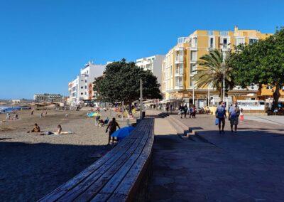 náměstí v El Médano
