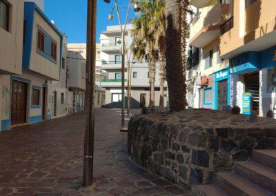 prázdná ulice v El Médano