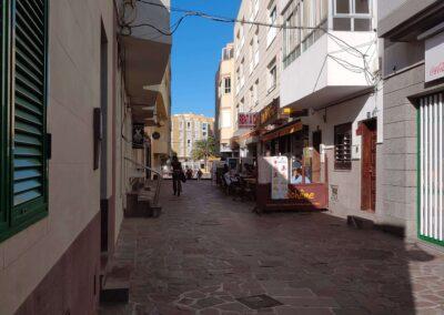 ulice v El Médano