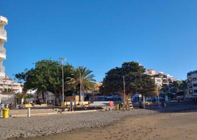 Pláž v El Médano
