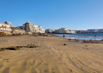 pláž v el Médanu