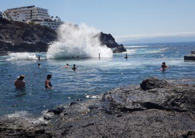 přílivový bazén v Los Gigantes