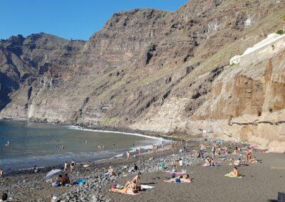 pláž v Los Gigantes