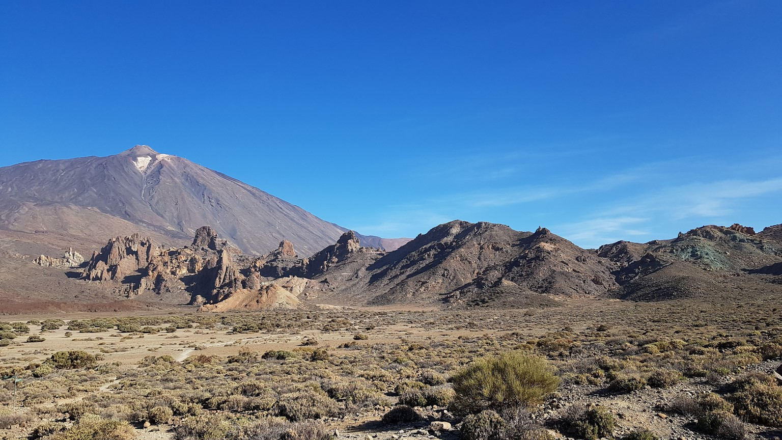 pohled na sopku el Teide