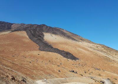 sopečná krajina el Teide