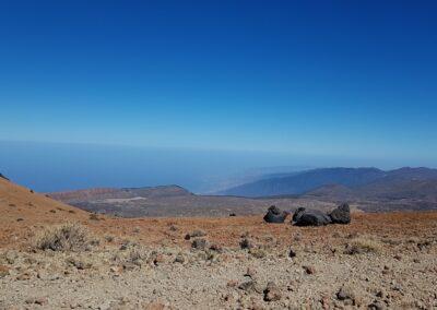 výhled z el Teide