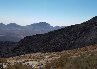 krajina v parku Teide