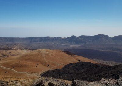 krajina na Teide