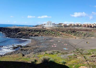 malá pláž v Los Abrigos