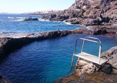 přílivový bazén v Los Abrigos