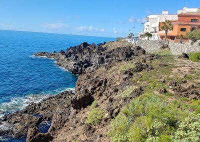 pobřeží na jihu Tenerife