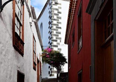 úzká ulička v Garachico