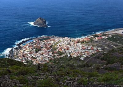 výhled na mestečko Garachico