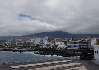 pobřeží v Puerto de la Cruz