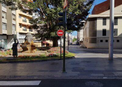 náměstíčko v Santa Cruz