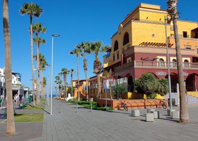 ulice a hotel v Las Americas