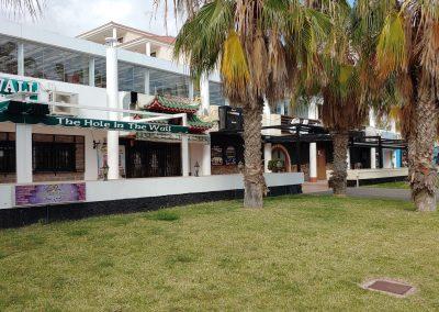 prázdná restaurace v Las Americas