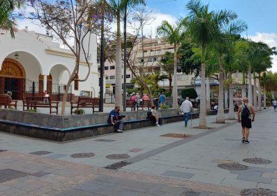 náměstí v Los Cristianos