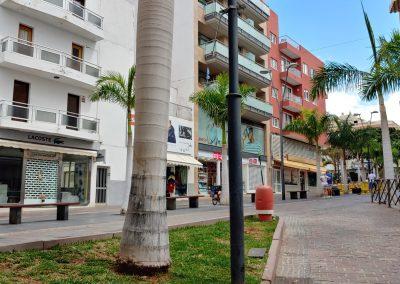 ulice v Los Cristianos