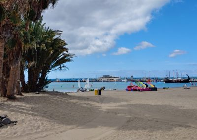 pláž v Los Cristianos
