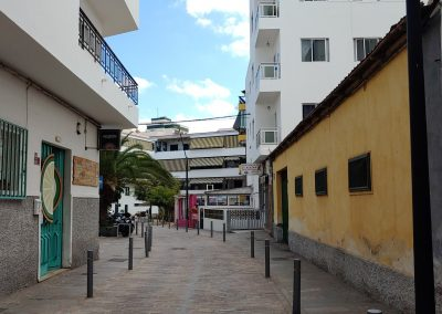 prázdná ulice Los Cristianos