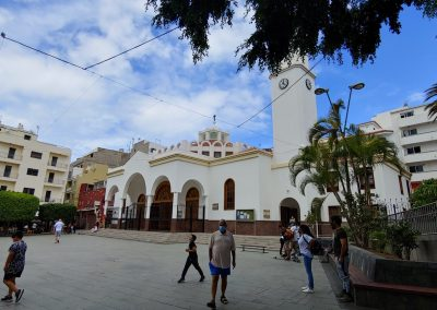 kostel v Los Cristianos
