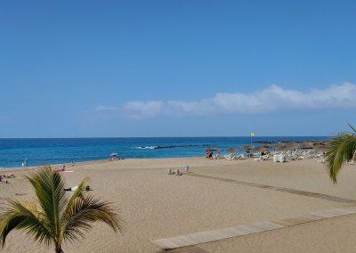 krásná pláž Costa Adeje