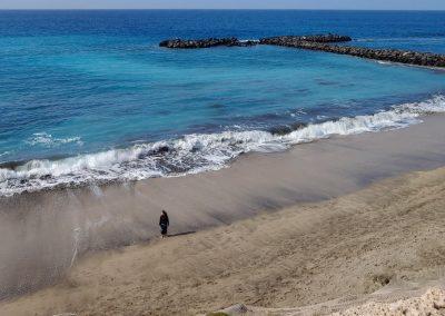 pláž s vlnobitím Costa Adeje