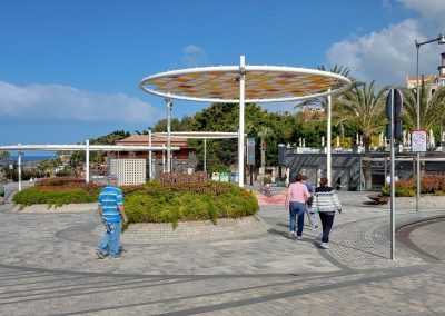 promenáda u pláže Costa Adeje