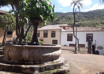 náměstí v Icod de los Vinos