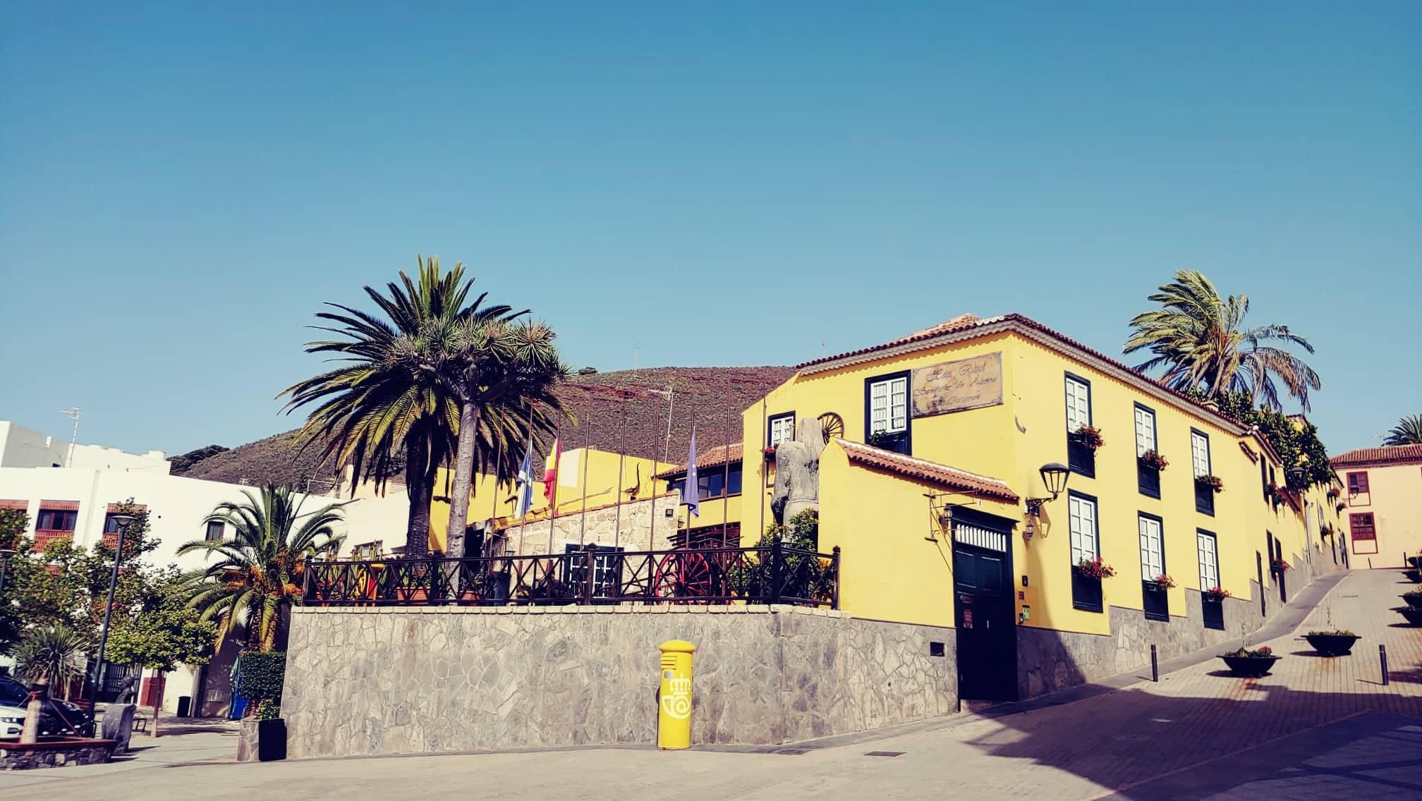 hezká ulice v Granadilla de Abona