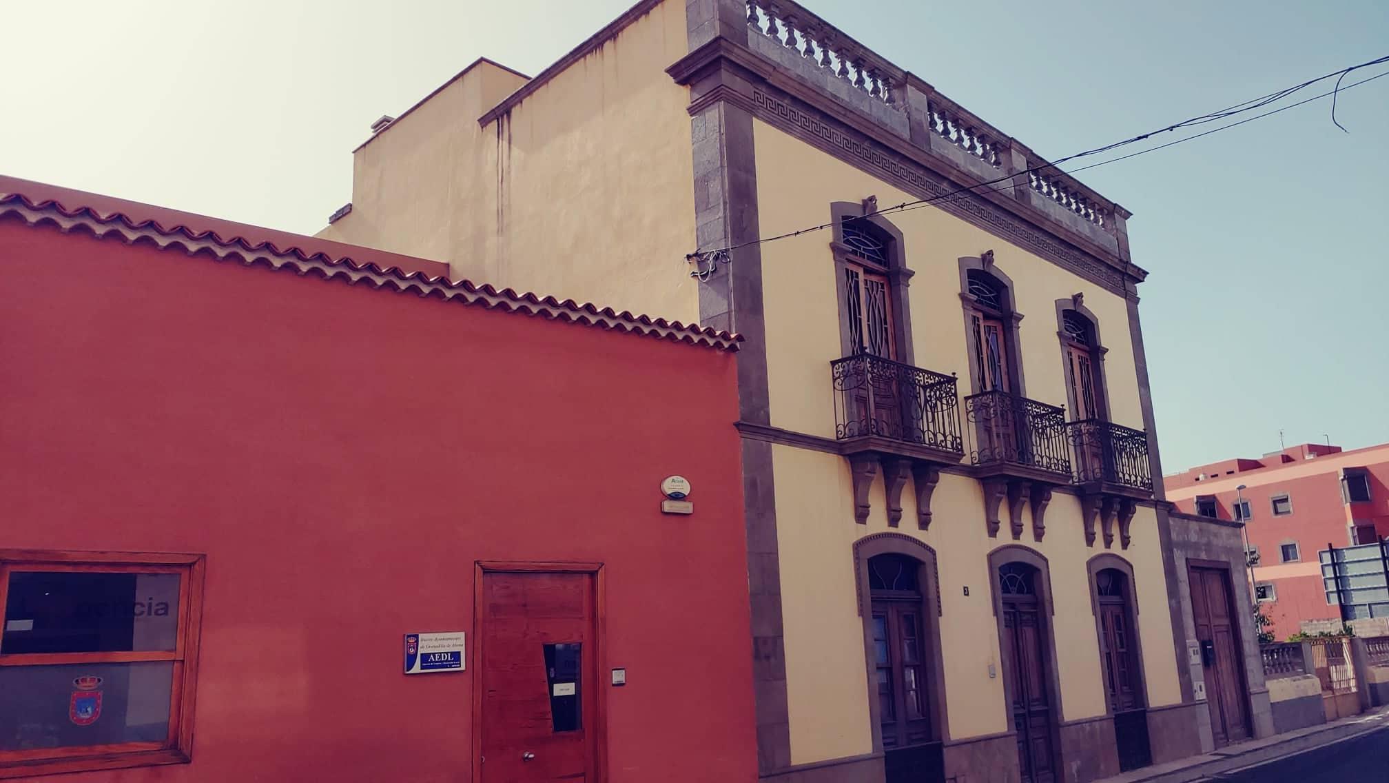 malebný dům v Granadille