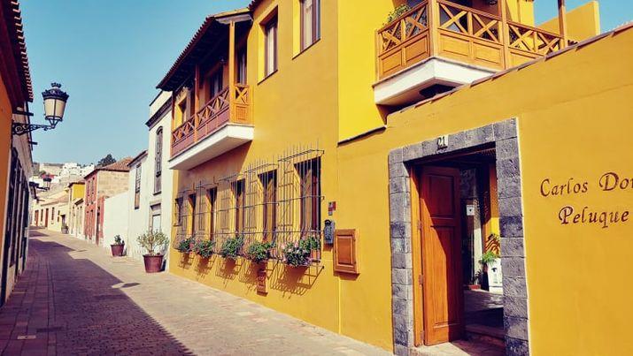 okrový dům v Granadille