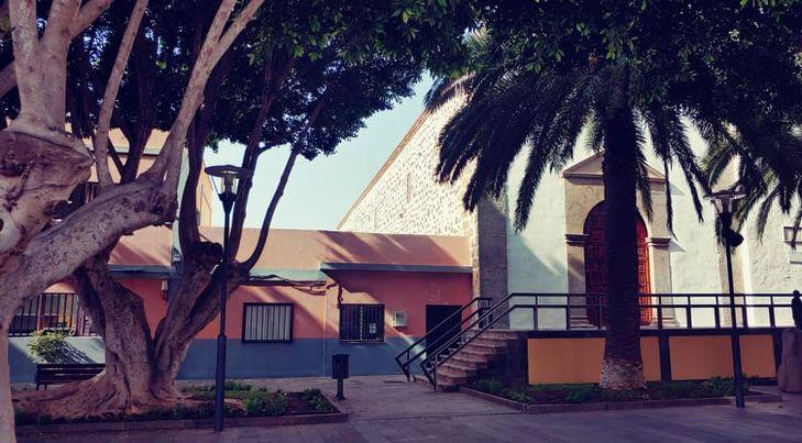 park před radnicí v Granadille