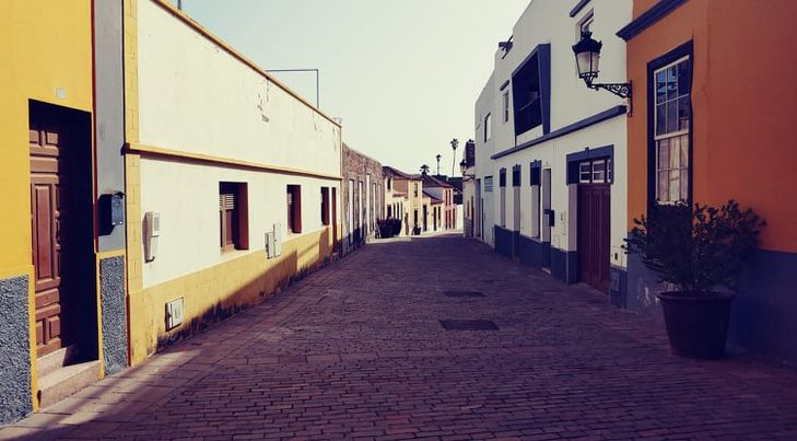 ulice v Granadille