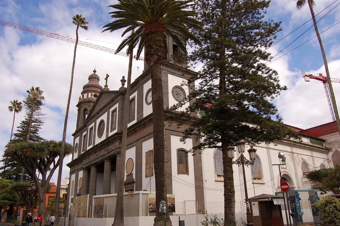 ulice v La Laguna