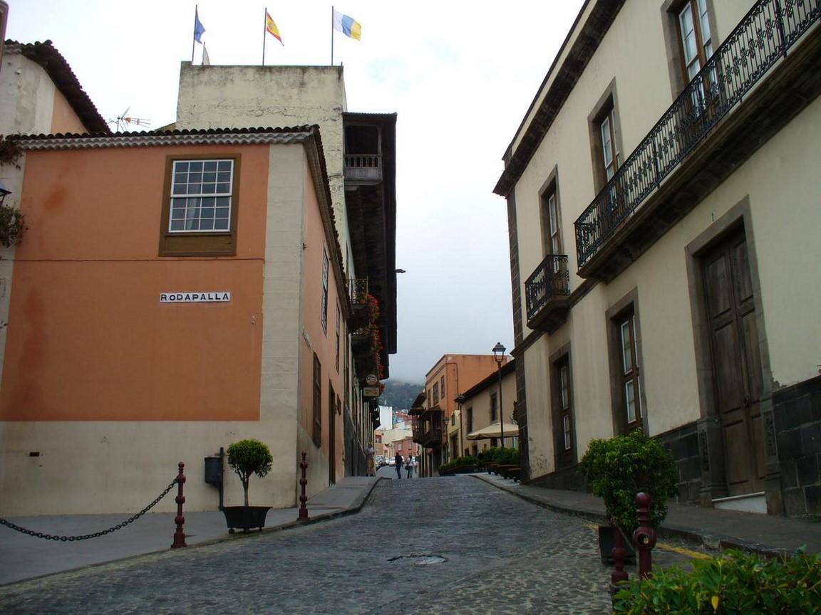 ulice ve městě La Orotova