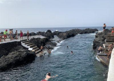 Garachico bazény