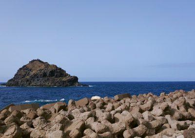 pobřeží u Garachico