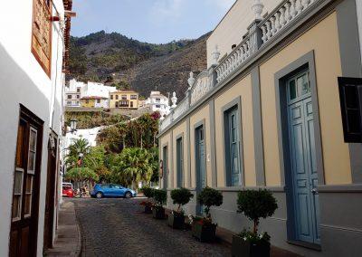 starobylá ulička v Garachico