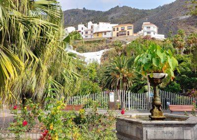náměstí s kašnou v Garachico